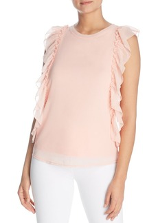 Design History Ruffled Top
