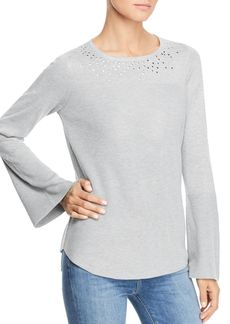 Design History Stud Embellished Sweater