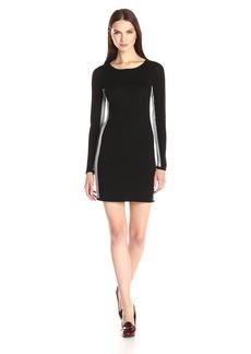 Design History Women's Colorblock Sweater Dress