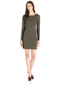 Design History Women's Colorblock Sweater Dress