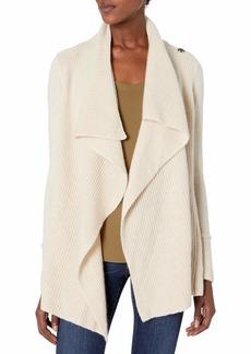 Design History Women's Draped Cozy Sweater  XL