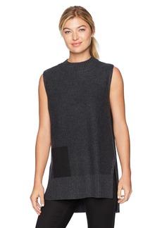 Design History Women's Faux Pocket Sweater  S