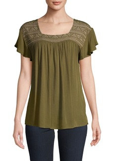 Design History Flutter-Sleeve Top