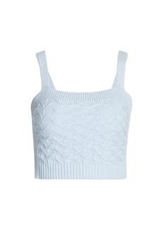 Design History Knit Crochet Bralette