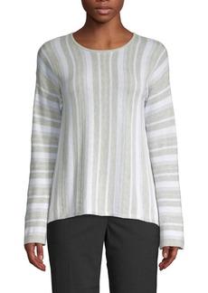 Design History Striped Knit Pullover