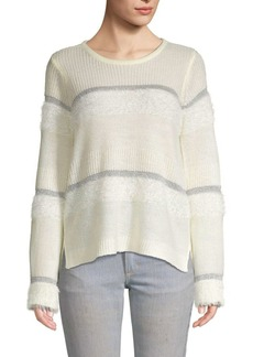 Design History Striped Knit Sweater