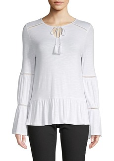 Design History Tassel-Trimmed Top