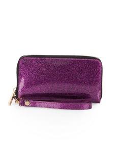 Deux Lux Glitter PDA Wristlet Wallet