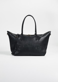 Deux Lux Perforated Duffel Bag