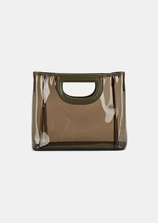 Barneys New York Women's Mini PVC Tote Bag - Gray