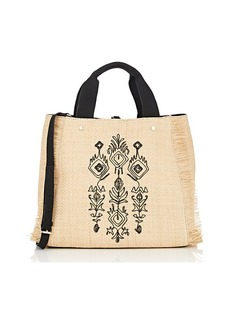 Deux Lux Women's Straw Tote Bag