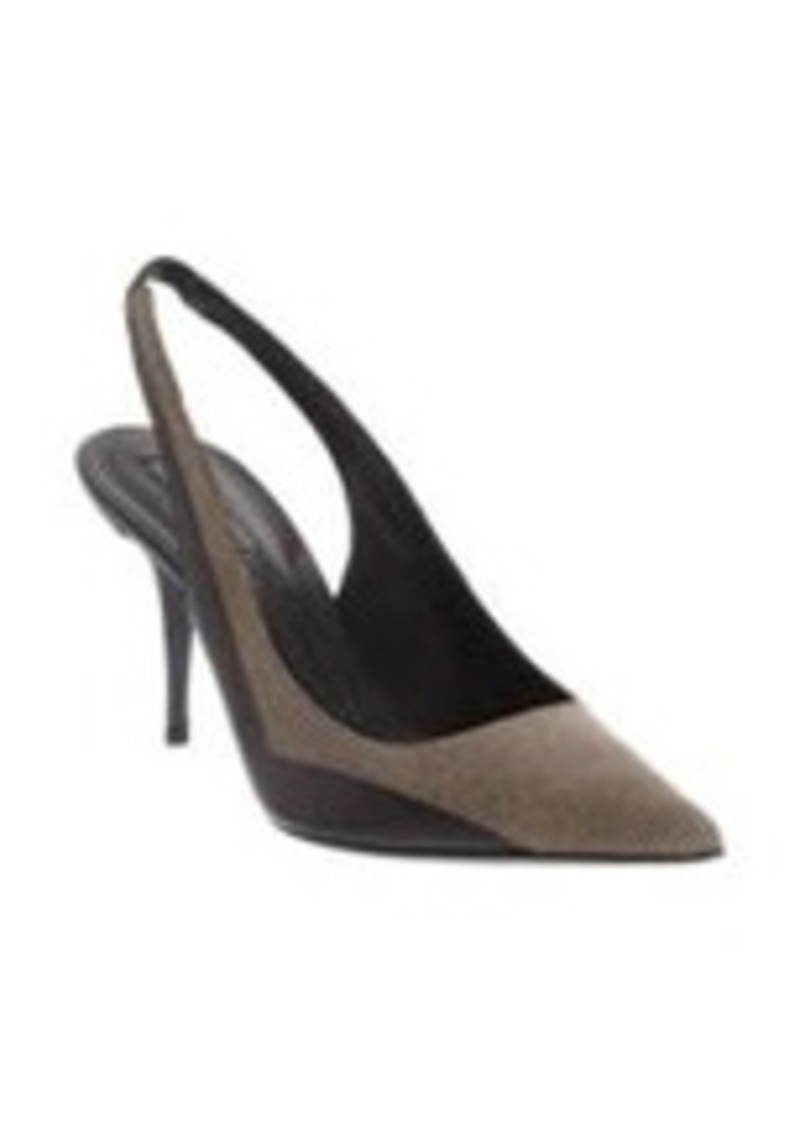 Narciso Rodriguez Embossed Slingback Pump
