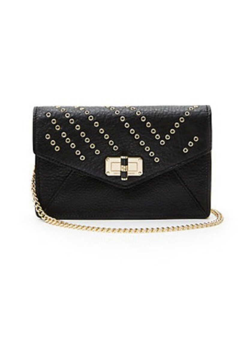 Diane Von Furstenberg 440 Gallery Bitsy Grommet Leather Mini Bag