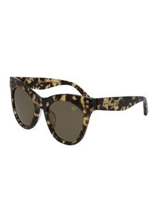 Diane Von Furstenberg 51mm Madilyn Cat Eye Sunglasses