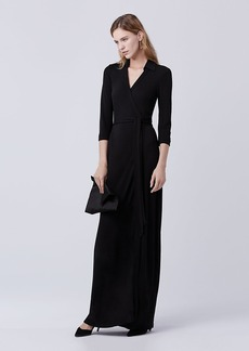 Abigail Maxi Jersey Wrap Dress