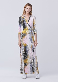Abigail Maxi Wrap Dress