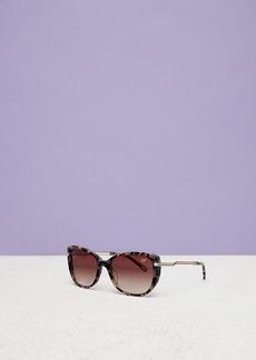 Diane Von Furstenberg Abigail Round Sunglasses