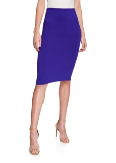 Diane Von Furstenberg Ada Knit Pencil Skirt