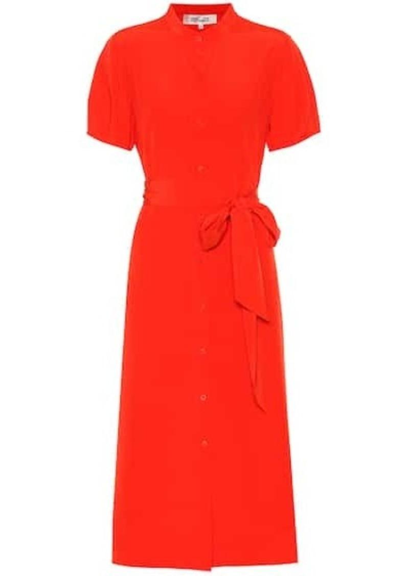 Diane Von Furstenberg Addilyn silk crêpe de chine dress