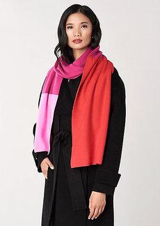 Diane Von Furstenberg Alasdair Wool-Cashmere Scarf