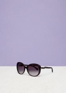 Diane Von Furstenberg Alice Oversized Round Sunglasses