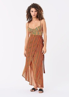 Diane Von Furstenberg Amanda Rayon Beach Wrap Skirt