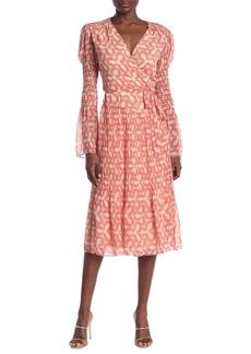Diane Von Furstenberg Ani Wrap Midi Dress