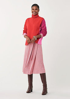 Diane Von Furstenberg Apple Cashmere Turtleneck