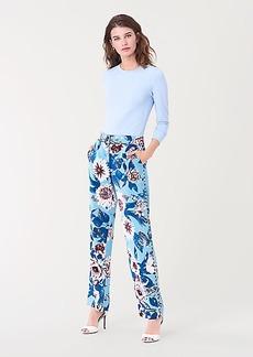 Diane Von Furstenberg Ashley Silk-Cady Straight Pants