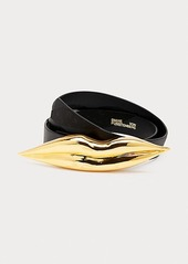 Diane Von Furstenberg Beau Leather Belt