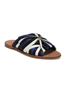 Diane Von Furstenberg Bella Rose Ribbon Sandals