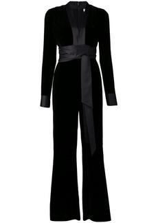 Diane Von Furstenberg belted maxi jumpsuit