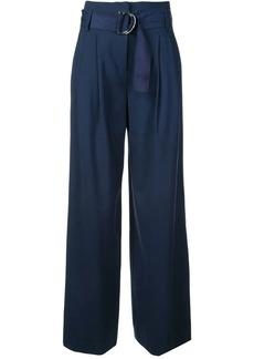 Diane Von Furstenberg belted palazzo pants