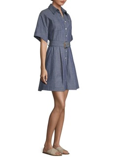 Diane Von Furstenberg Belted Shirt Dress
