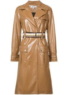 Diane Von Furstenberg belted trench coat