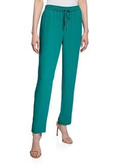 Diane Von Furstenberg Bennet Drawstring-Waist Pants