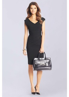 Bevin Ceramic Ruched Sheath Dress