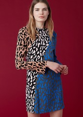 Diane Von Furstenberg Bias Fitted Dress
