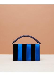 Diane Von Furstenberg Bonne Soirée Velvet Shoulder Bag