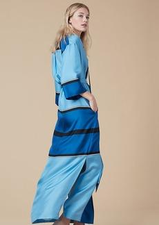 Bow Tie Floor-Length Dress