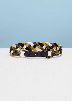 Diane Von Furstenberg Braided Belt