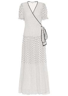 Diane Von Furstenberg Breeze maxi wrap dress