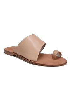 Diane Von Furstenberg Brittany Cappuccino Toe Ring Sandal