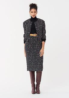 Diane Von Furstenberg Caitlyn Jacquard Knit Bomber