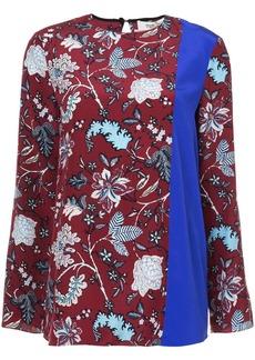 Diane Von Furstenberg Canton floral blouse
