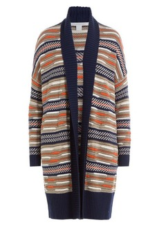 Diane Von Furstenberg Cardigan with Merino Wool and Silk