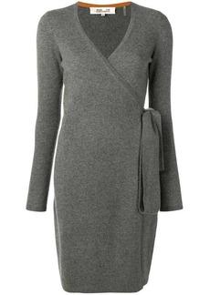 Diane Von Furstenberg cashmere wrap-around dress