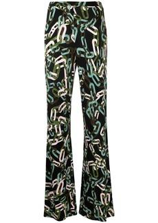 Diane Von Furstenberg Caspian flared trousers