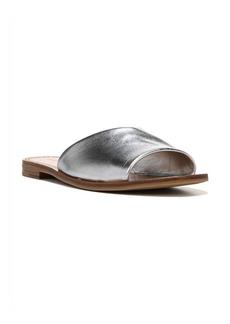 Diane Von Furstenberg Casserta Metallic Leather Slides