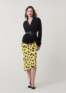 Diane Von Furstenberg Sanorah Silk Blouse